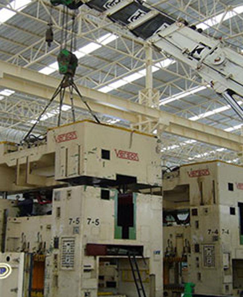 VERSON Press 400 x 8 Units Installation Works.s.